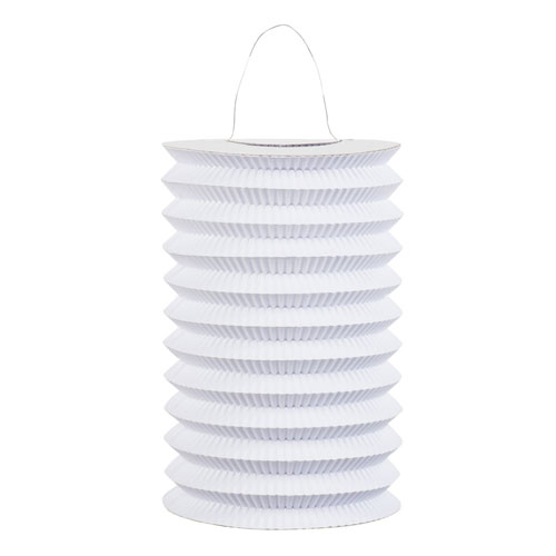 White Paper Lantern 15cm Product Image
