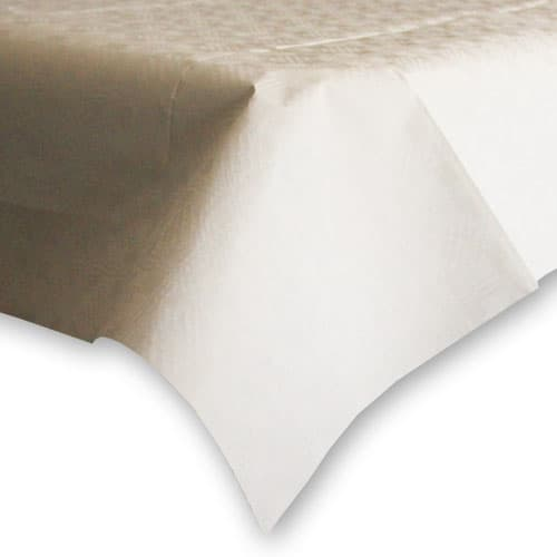 White Paper Tablecover - 90cm x 90cm