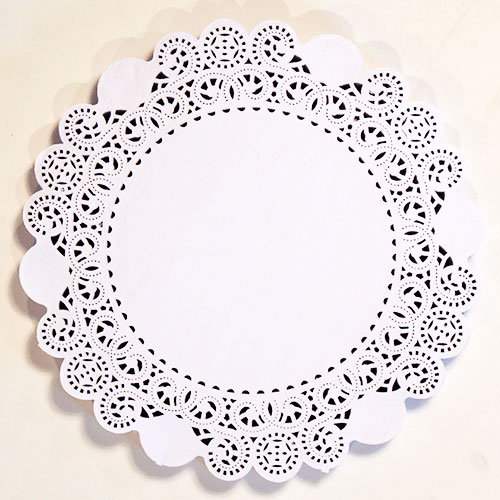 White Round Paper Doilies - 10.5 Inches / 27cm - Pack of 250