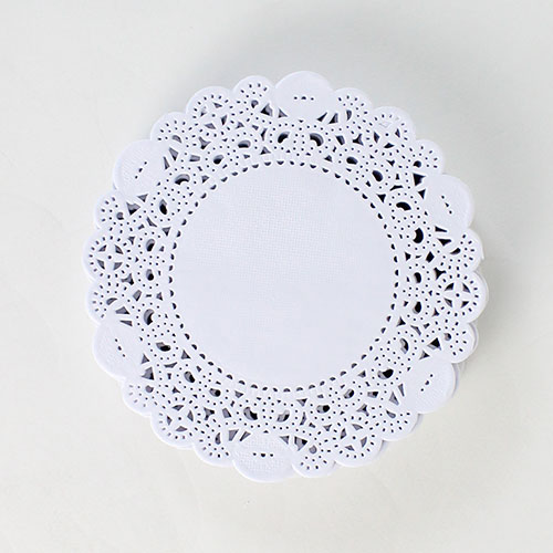 White Round Paper Doilies – 4.5 Inches / 11cm – Pack of 250 Product Image