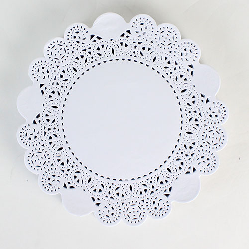 White Round Paper Doilies - 7.5 Inches / 19cm - Pack of 250