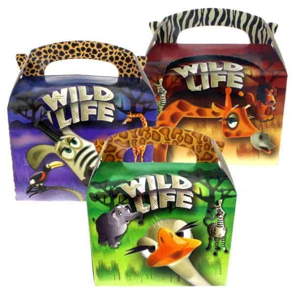 Wild Life Meal Box