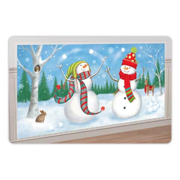 Winter Snowmen Scene Setter Add Ons