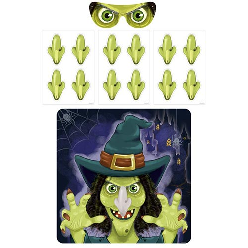 Witch Halloween Party Game