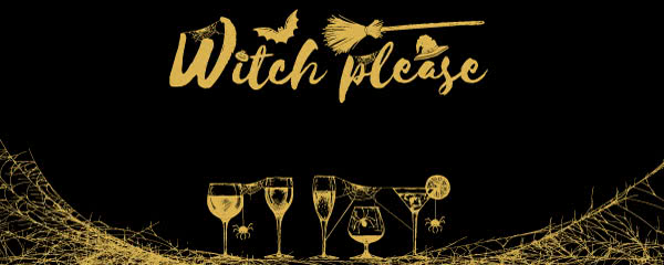 Witch Please Halloween Design Medium Personalised Banner - 6ft x 2.25ft