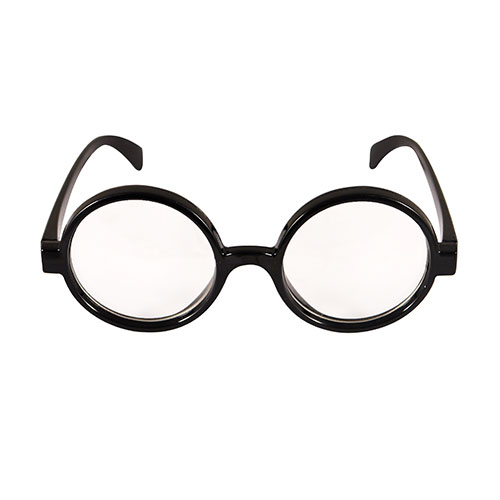 Wizard Boy Clear Lenses Plastic Novelty Glasses