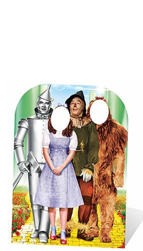 Wizard Of Oz Emerald City Stand In Lifesize Cardboard Cutout - 130cm Product Image