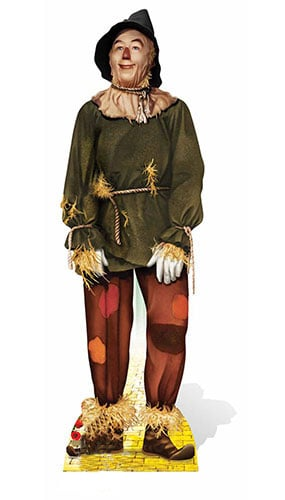 Wizard Of Oz The Scarecrow Lifesize Cardboard Cutout - 171cm Product Image