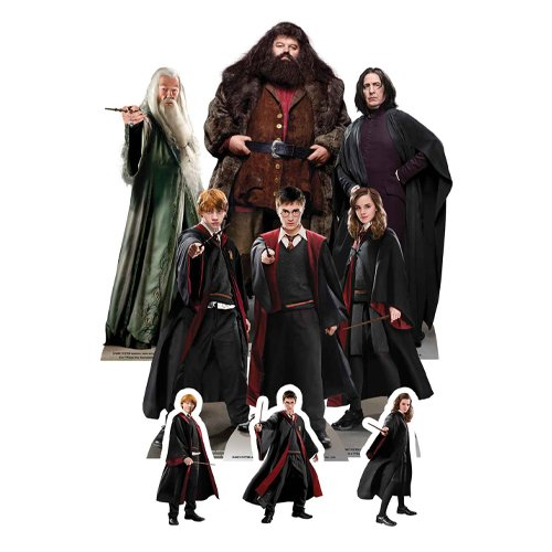 Wizarding World of Harry Potter Table Top Cutout Decorations - Pack of 9