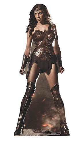 Wonder Woman Lifesize Cardboard Cutout - 182cm