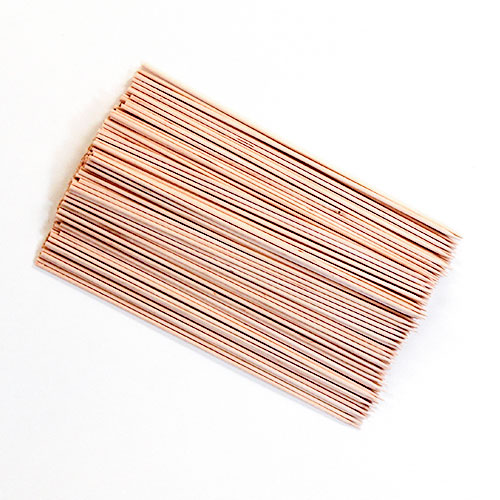 Wooden Skewers 25cm - Pack of 200 Product Image