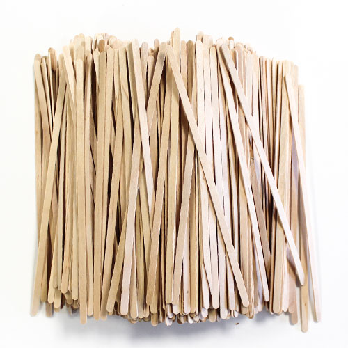 Wooden Stirrers 19cm - Pack of 500 Product Image