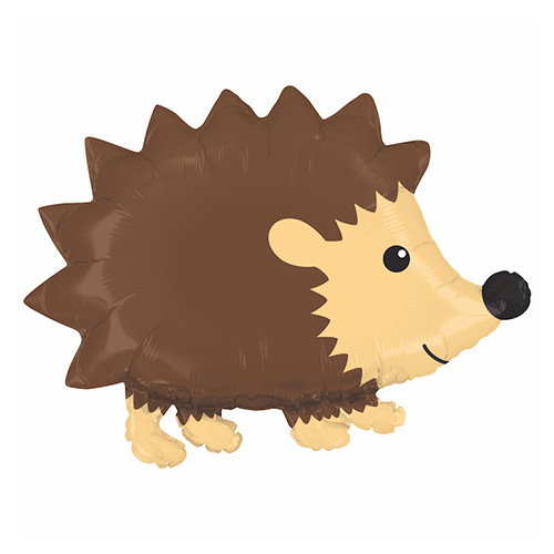 Woodland Hedgehog Helium Foil Giant Balloon 76cm / 30 in Product Image