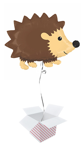 Woodland Hedgehog Helium Foil Giant Balloon - Inflated Balloon In A Box Product Image