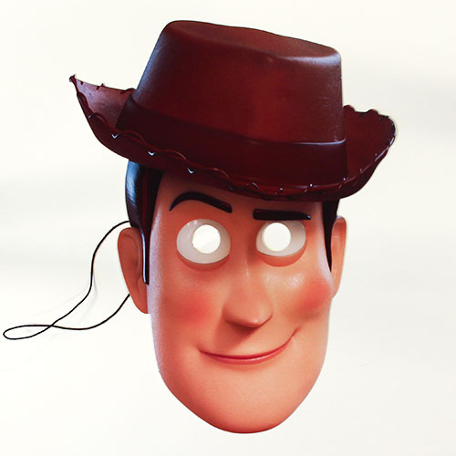 Woody Toy Story 4 Cardboard Face Mask
