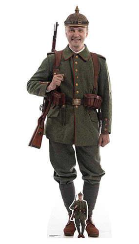 WW1 German Soldier Lifesize Cardboard Cutout 191cm Product Image
