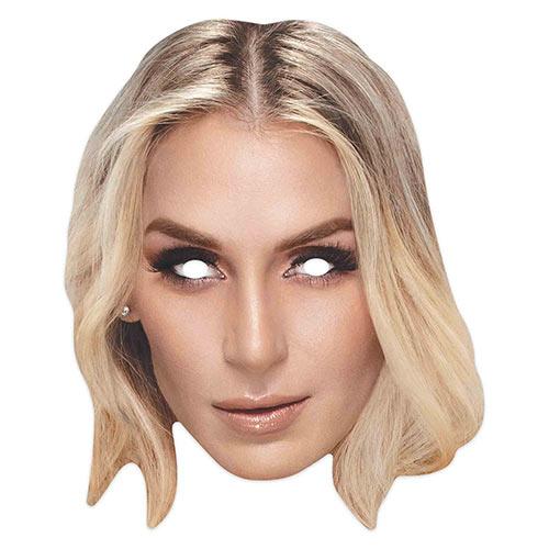 WWE Charlotte Flair Cardboard Face Mask