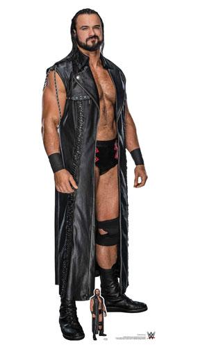 WWE Drew McIntyre Lifesize Cardboard Cutout 194cm Product Image