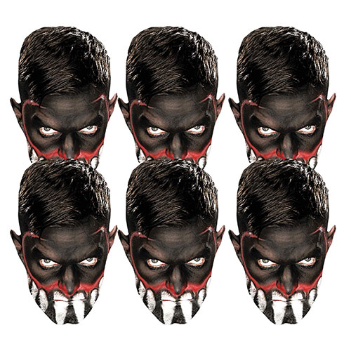 WWE Finn Balor Cardboard Face Masks - Pack of 6 Product Image