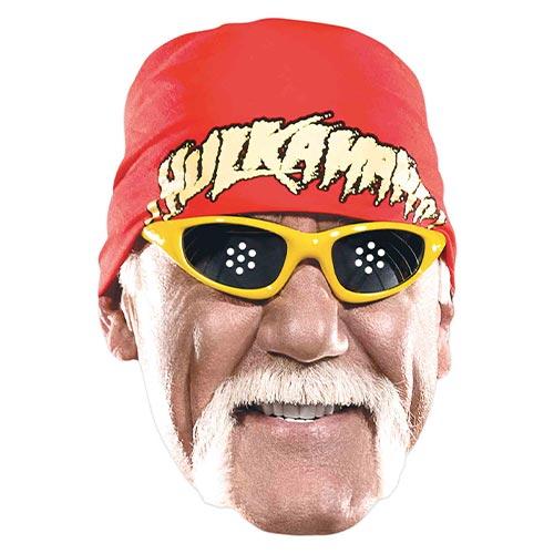 WWE Hulk Hogan Cardboard Face Mask