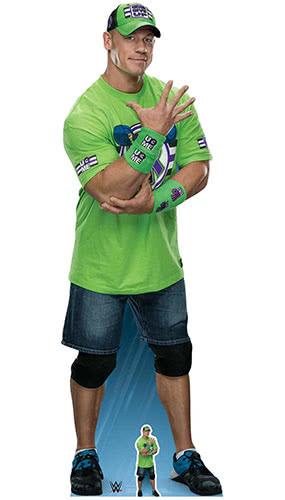 WWE John Cena Lifesize Cardboard Cutout 185cm Product Image
