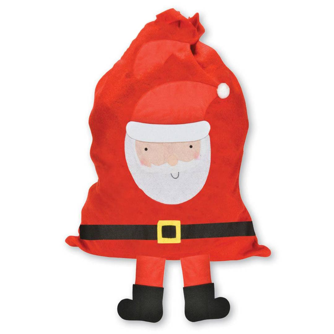 Santa With Legs Christmas Sack 87cm Product Image