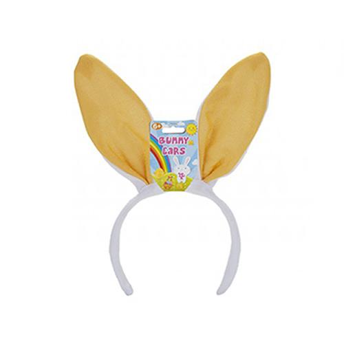 Yellow Bunny Ears Easter Headband Fancy Dress