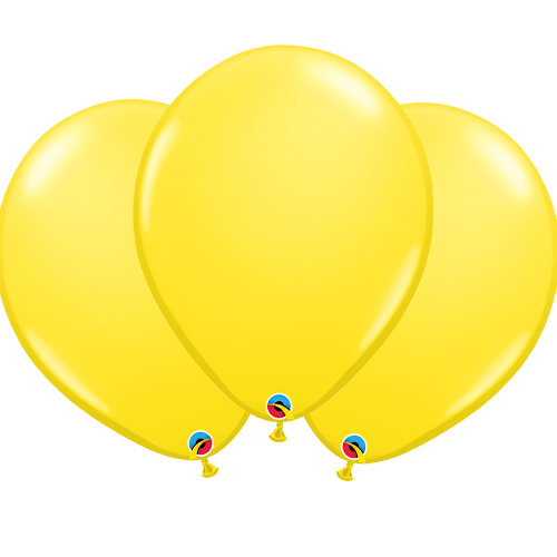 Yellow Latex Qualatex Balloons 40cm / 16 in - Pack of 50 Product Image