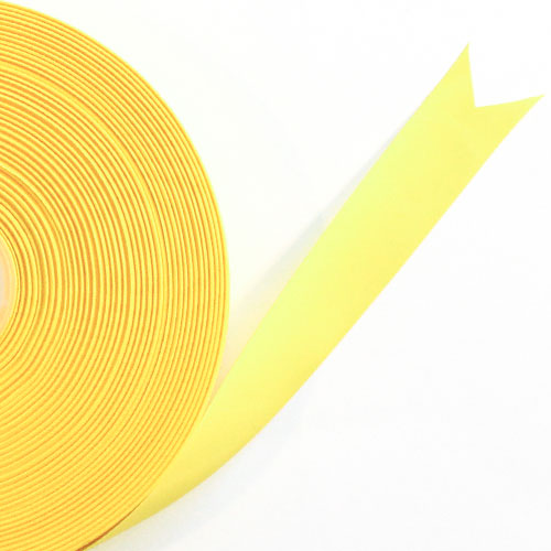 Yellow Satin Faced Ribbon Reel 15mm x 50m Product Image