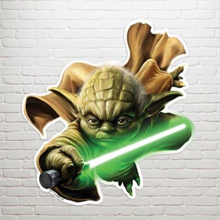 Yoda Wall Art Decoration - 65cm