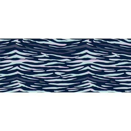 Zebra Animal Print PVC Party Sign Decoration 60cm x 25cm Product Image