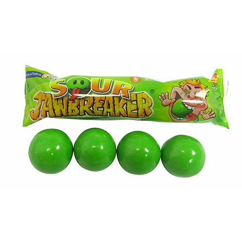 Zed Candy Sour Jawbreakers Vegetarian Sweet 33g Product Image