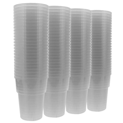 Plastic Half Pint Glasses - 10oz / 284ml - Pack of 100