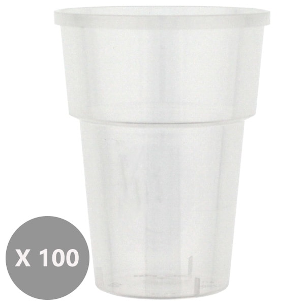 Plastic Juice Tumblers - 8oz / 237ml - Pack of 100 Product Image