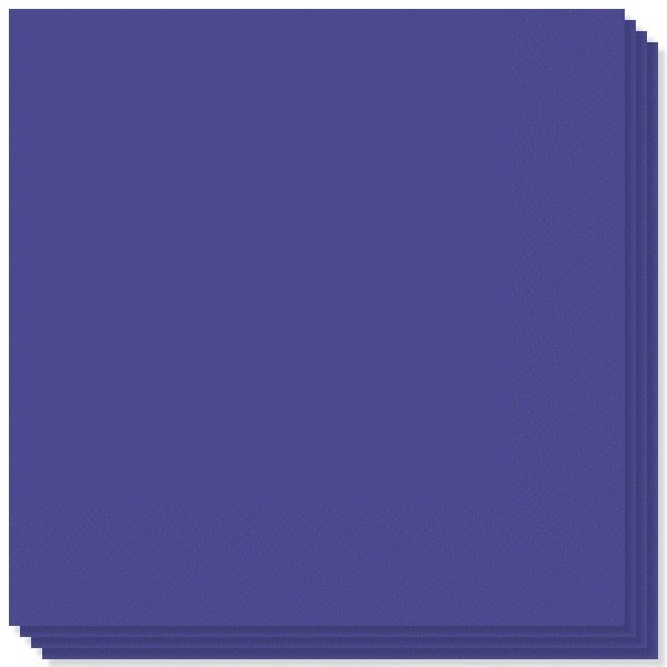 Purple 2 Ply Napkins - 16 Inches / 40cm - Pack of 100