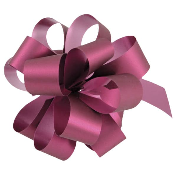 Burgundy Pull Bows - Pack of 20 Product Image