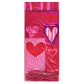 Hearts Plastic Cello Bags – Pack of 20