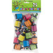 Party Poppers – Pack of 25
