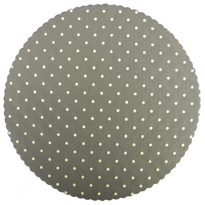 White Spotted Nets - Pack of 25