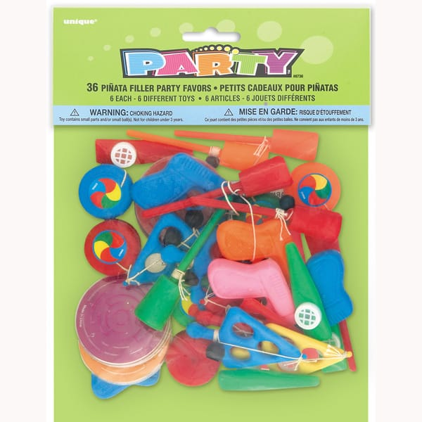 Pinata Fillers - Pack of 36
