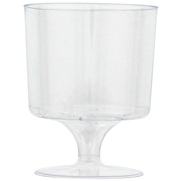 Plastic Wine Glasses - 5oz / 148ml - Pack of 8 Product Image