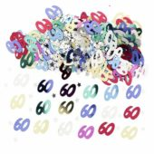 60th Birthday Assorted Table Confetti – 14 Grams