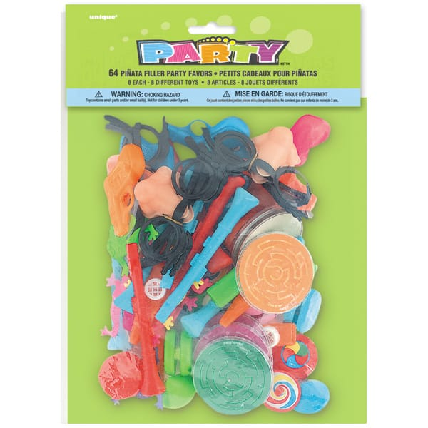 Pinata Fillers - Pack of 64