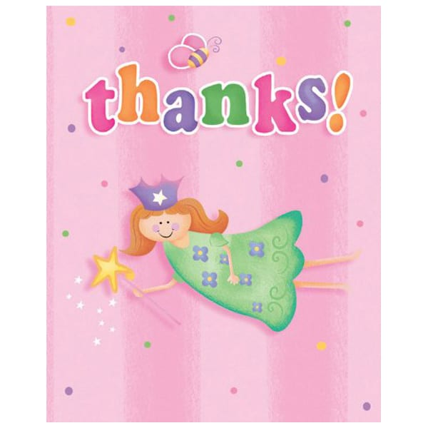 8-fun-at-one-girl-thank-you-cards-with-envelopes-product-image