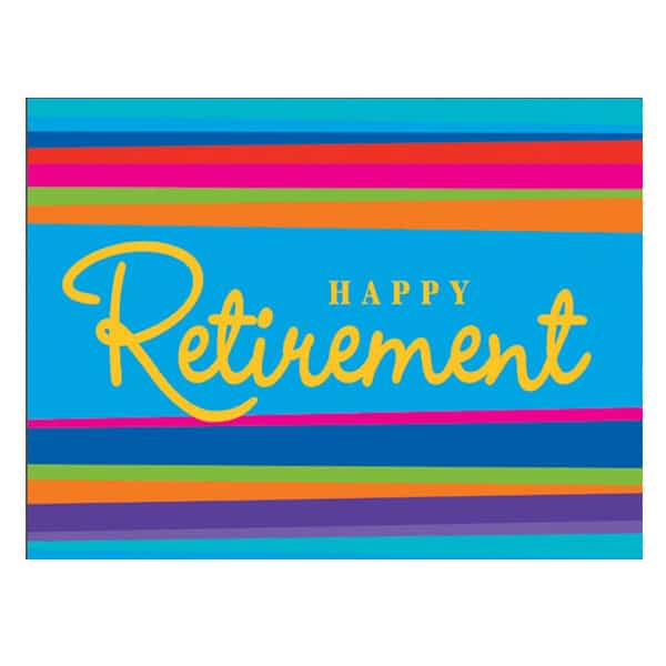 8 Happy Retirement Invitations With Envelopes Partyrama