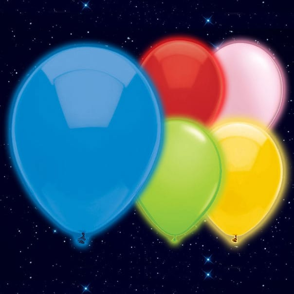 Assorted Colour Illoom Balloons - 9 Inches / 23cm - Pack of 15