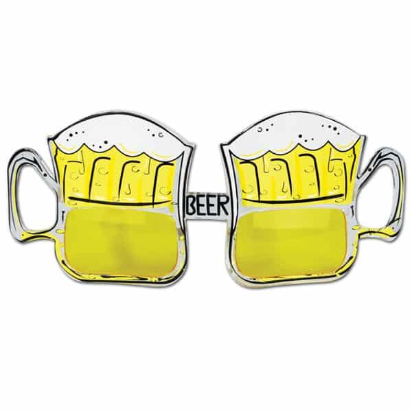 Beer Mug Fancy Dress Glasses
