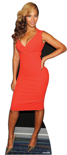 Beyonce Lifesize Cardboard Cutout - 171cm Product Gallery Image