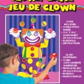 Birthday Clown 'Stick the Nose on the Clown' Party Game