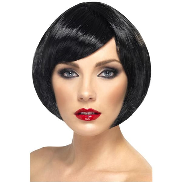 Black Babe Ladies Short Wig
